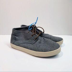 Toms Wool High Top Sneaker
